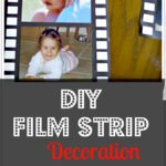 diy film strip decoration
