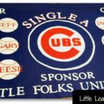 homemade little league baseball banner