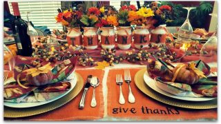 Rustic Thanksgiving Decor DIY Easy and Cheap!