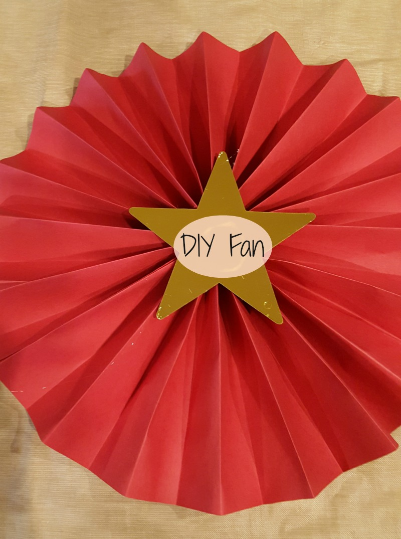 paper fan tutorial