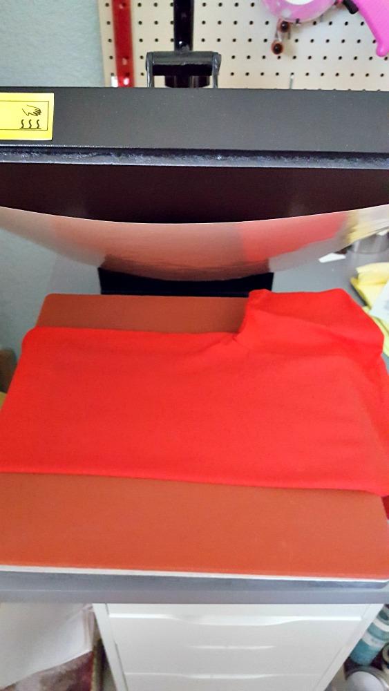diy shirt heat press