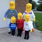 diy lego family costumes