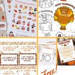 free thanksgiving printables pin
