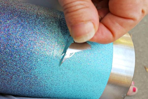 glitter tumbler tutorial