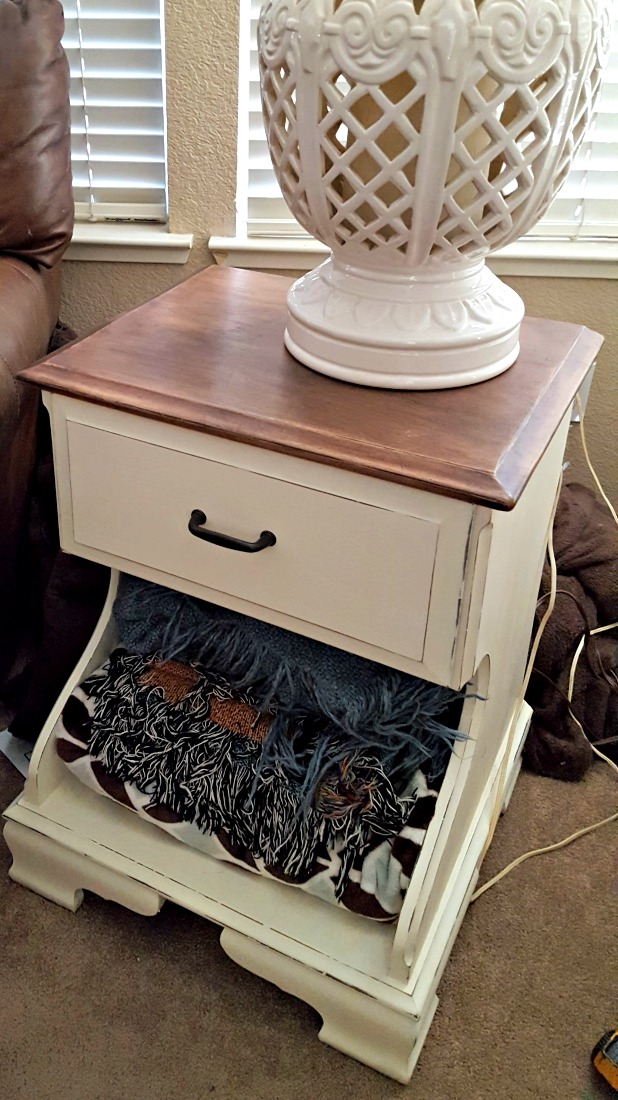 farmhouse nightstand diy