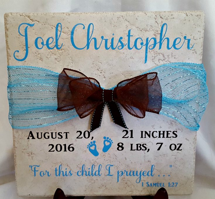 Beautiful and Easy Cricut Gift Ideas!