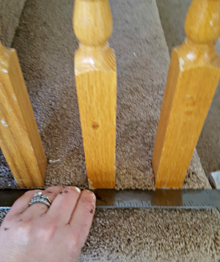 how to refinish stairs with gel stain and paint