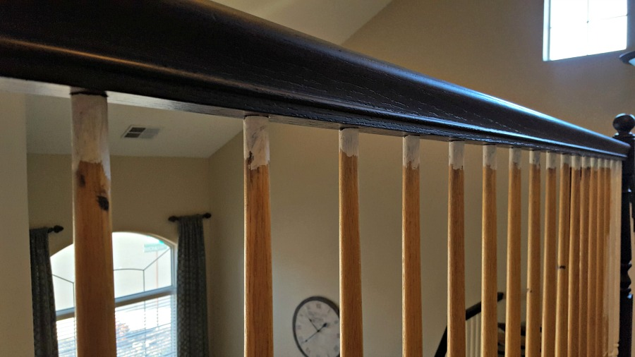 how to refinish stairs and railings