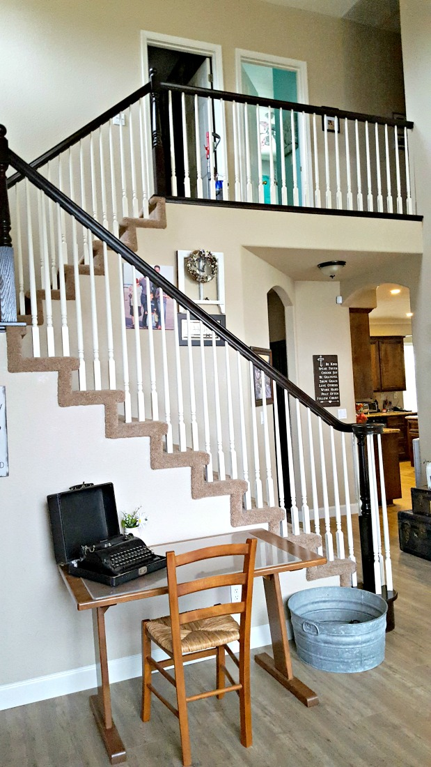 staircase refinishing end result