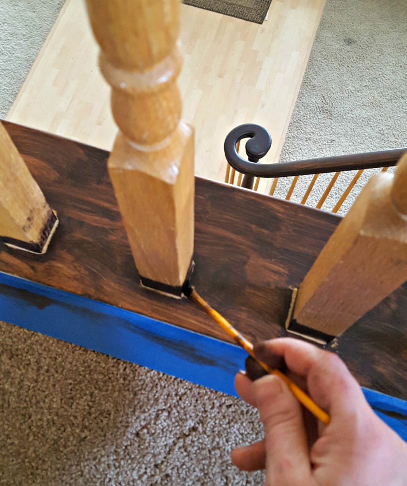 suggestions for refinishing stair railing
