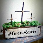 DIY Easter cross decoration tutorial