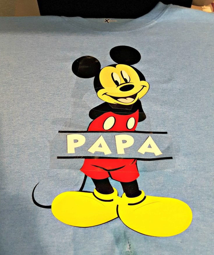 DIY Disney Shirts Tutorial with CDS Video Tutorials!