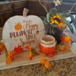 DIY Pumpkin wood sign tutorial