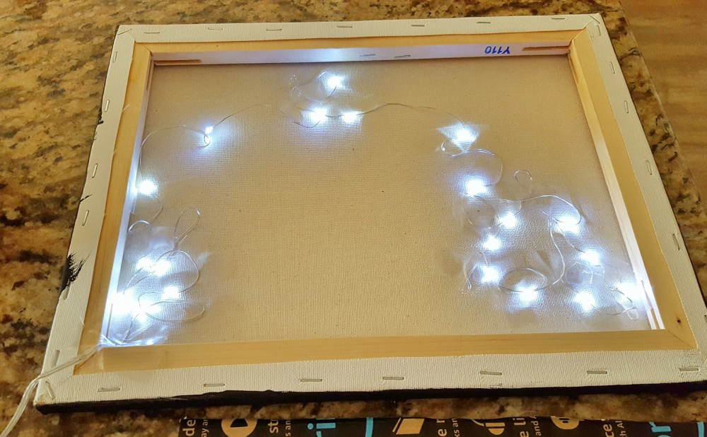 Cricut Christmas Projects that light up