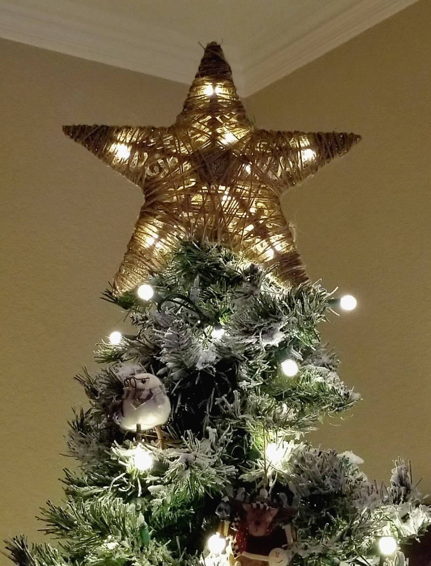 Diy Tree Topper From Dollar Tree Items Leap Of Faith Crafting