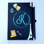 personalized journal tutorial