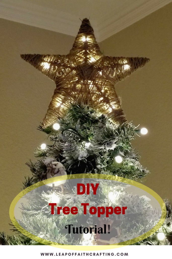 how to make a tree topper