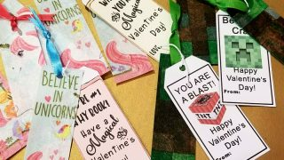 DIY Valentines for Classmates plus Free Printable Tag!