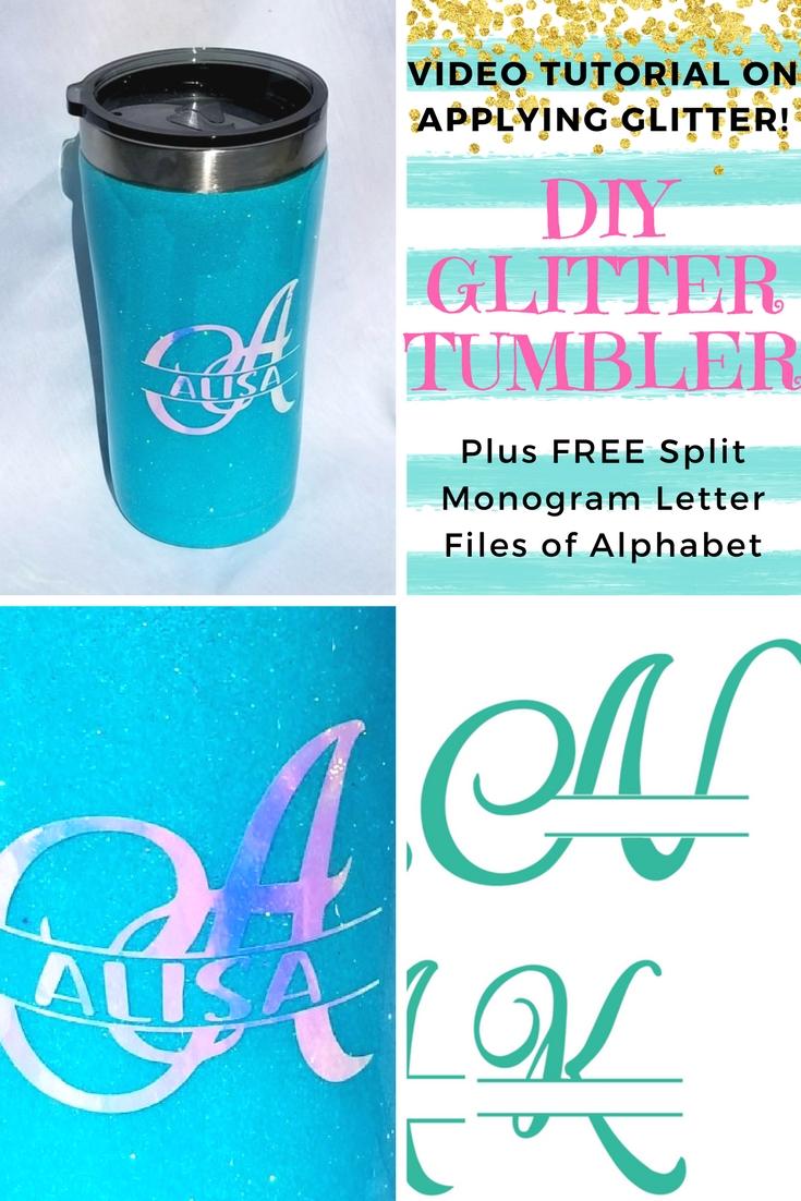 split-monogram-letter-free