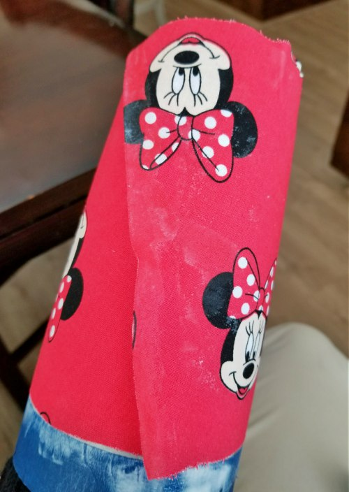 diy disney fabric tumbler