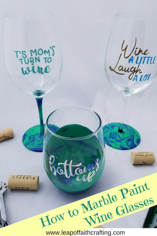 diy personalized wine glasses pinterest
