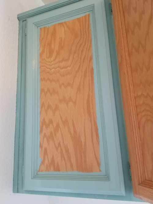 painting laundry room cabinets with chalk paint