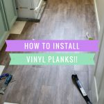 peel and stick vinyl planks pin