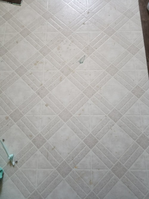 laundry room floor update