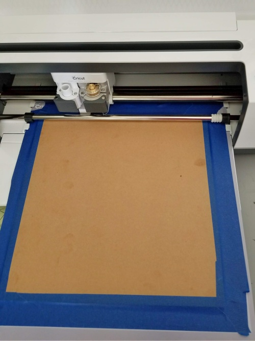cricut knife blade chipboard