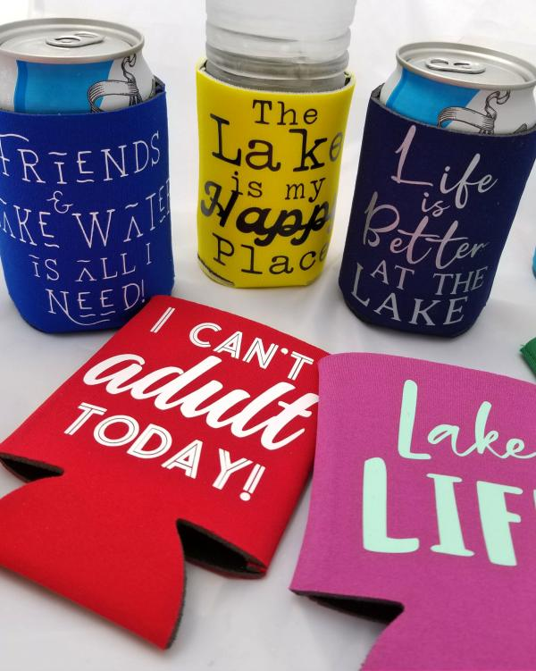 how to make koozies for summer