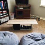 diy coffee table recycled