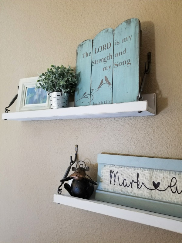 how to make wall shelves