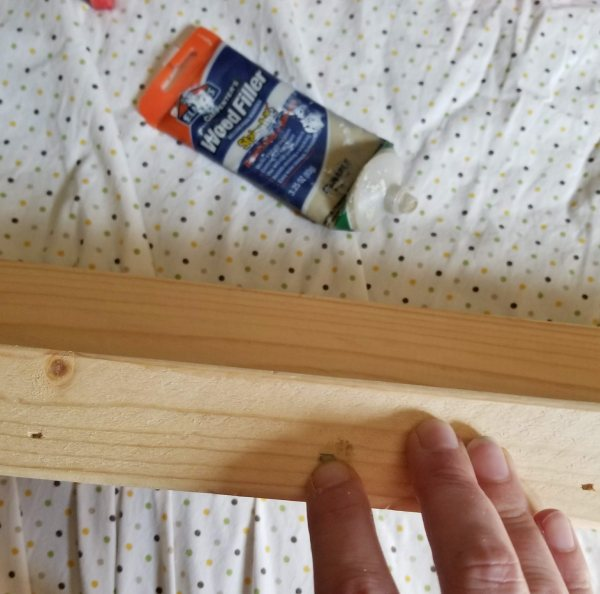 how to make rustic shelves