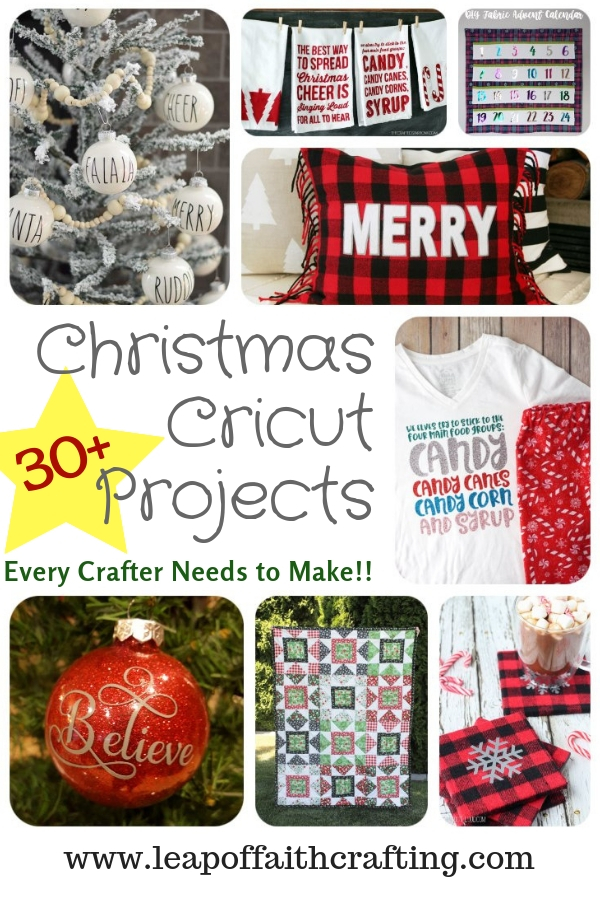 christmas cricut projects pinterest
