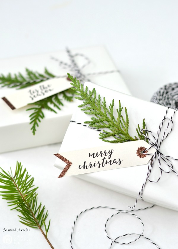 cricut christmas tags merry christmas