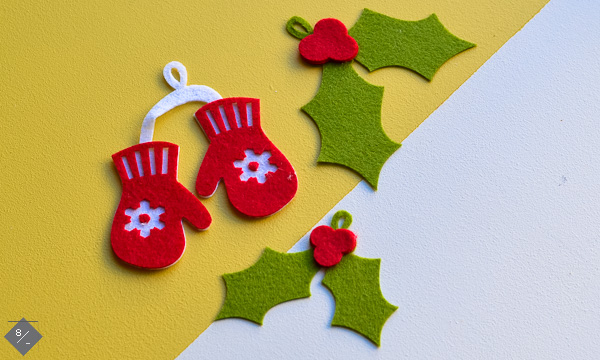 make felt gift tags with your cricut maker