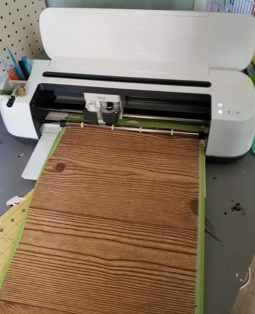 cutting contact paper out with cricut