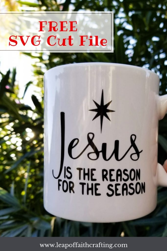 jesus is the reason svg file
