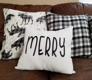 rae dunn christmas pillows diy