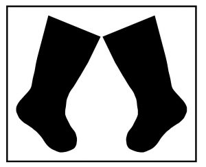 stockings svg cut file