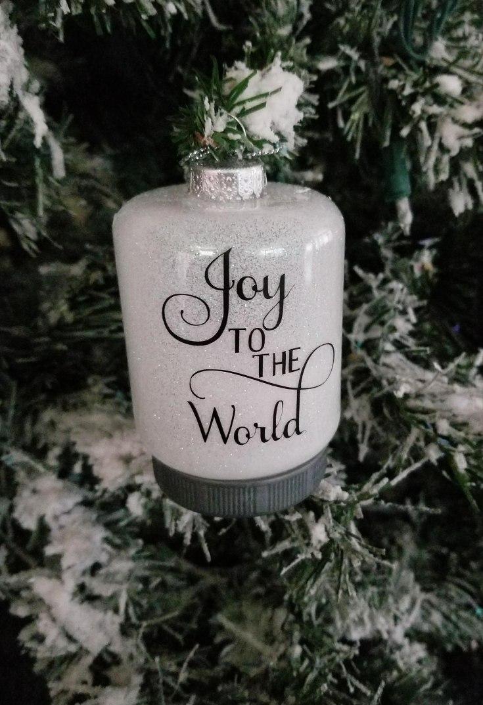 glitter in ornaments
