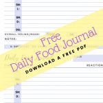 food diary pdf pin