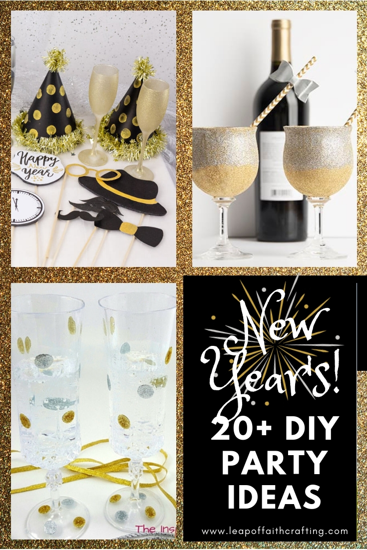 new years eve party ideas pin
