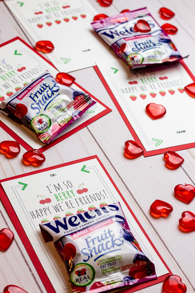 fruit snack valentines
