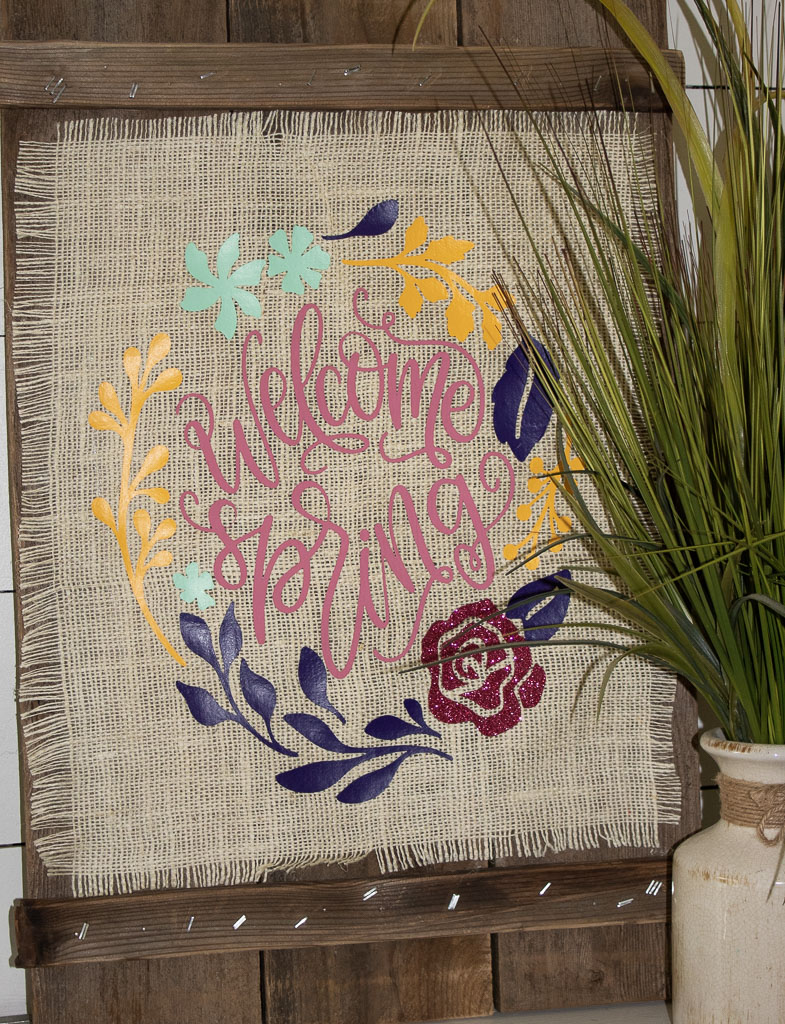 cricut easy press spring projects