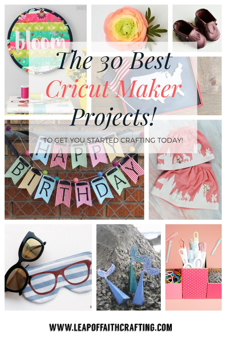 Cricut Maker Projects: 35 Amazing Ideas to Make with your