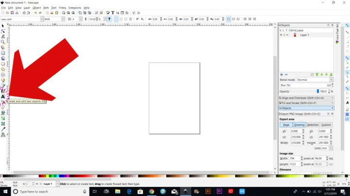 how to make a svg file to sell inkscape