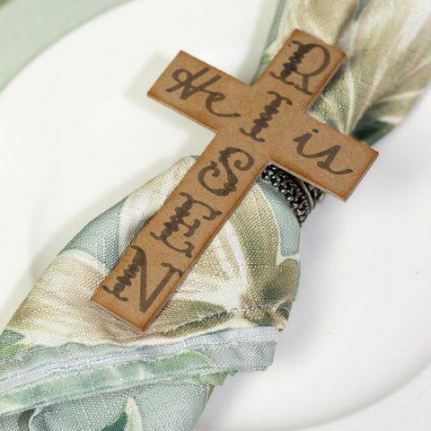 DIY Christ-Centered Easter Napkin Rings