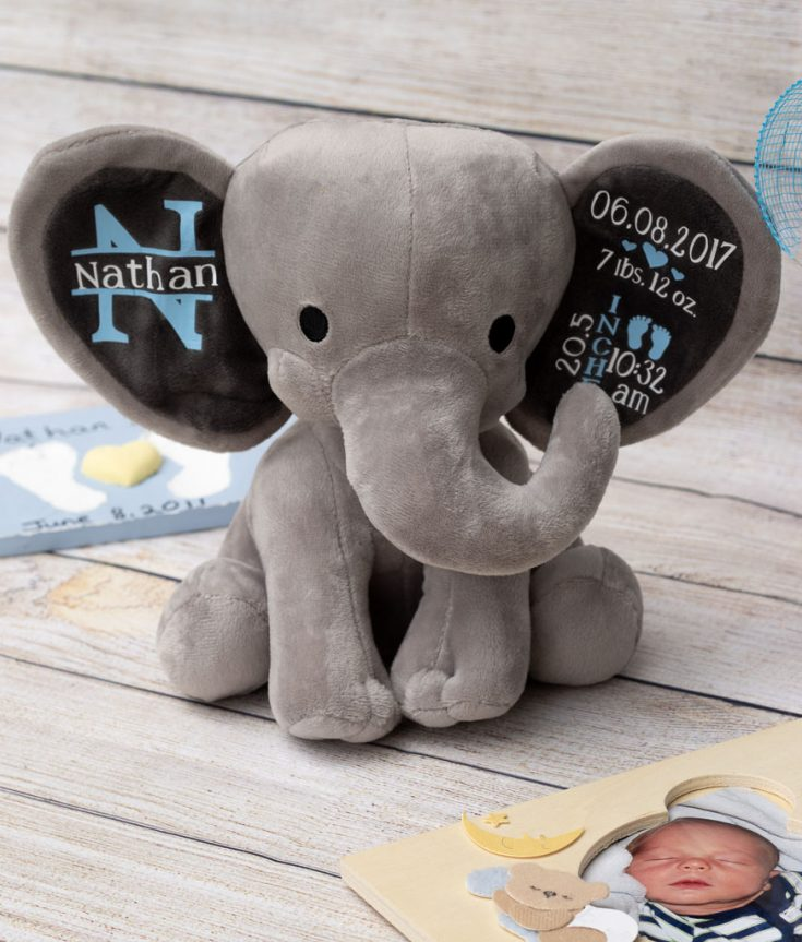 DIY Baby Gifts: How to Make an Adorable Birth Stat Elephant