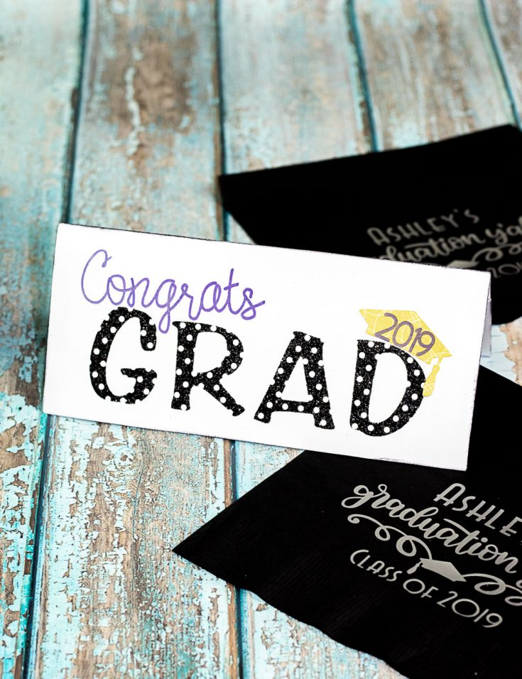 Graduation Card DIY: How to Make a Cute and Easy Money Card Holder